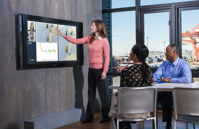 Microsoft's Surface Hub will Change Office Collaboration